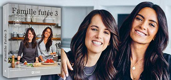 M105 Alexandra Diaz Presente Le Nouveau Livre De Recettes Famille