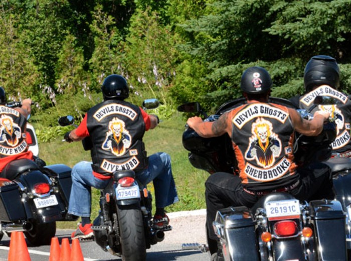M105 » Rassemblement de motards à Sherbrooke